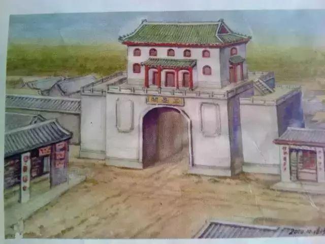 永城三台阁