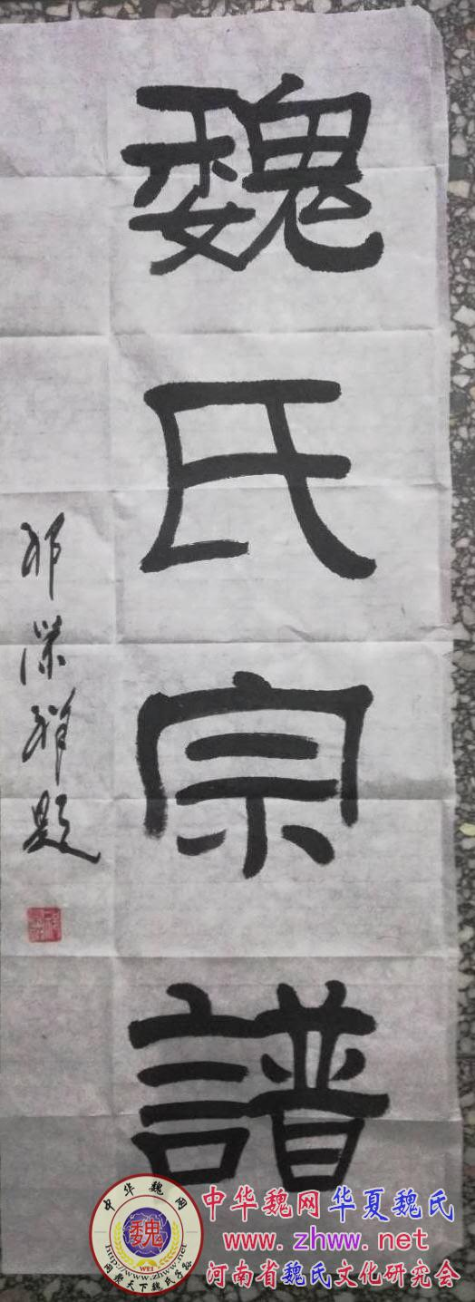 魏杰会长一行莅临南阳魏氏文化研究会指导交流南阳地区续谱工作